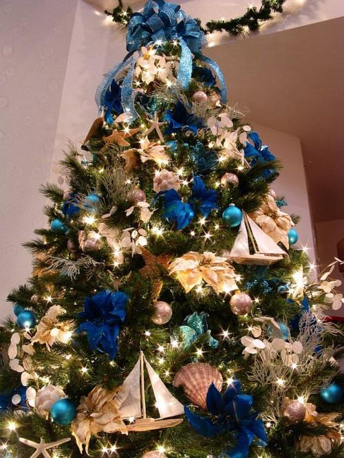 Украшение новогодней елки дома своими руками