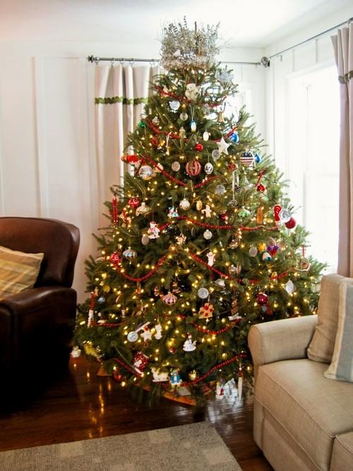 Как украсить новогоднюю елку 2013 фото