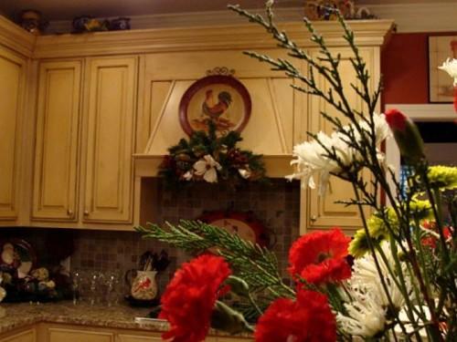 Как украсить кухню к Новому году 2013