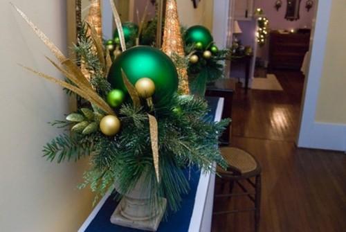 Новогодний декор для украшения прихожей