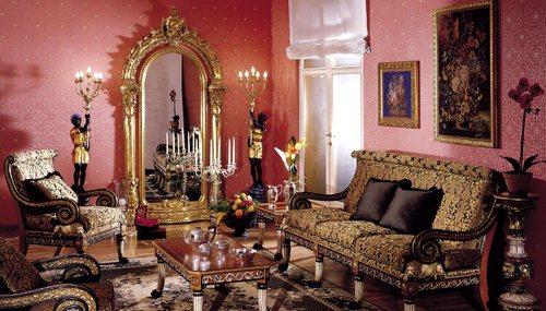 Резная мебель фабрики Asnaghi фото