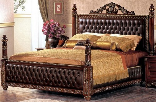 Кровать резная фото