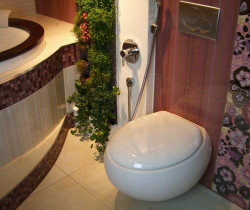 Унитаз с гигиеническим душем