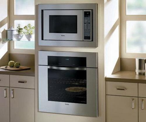 Встраиваемая микровлновая печь и духовой шкаф