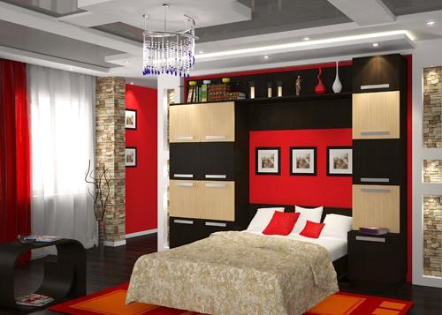 Шкаф со встроенной кроватью
