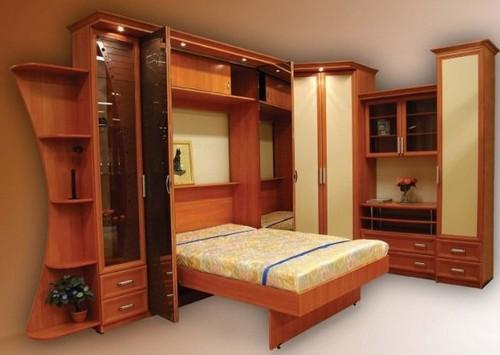 кровать встроенная в стенку