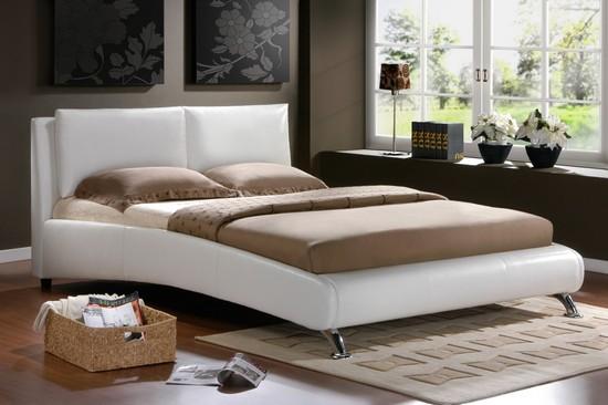 Кожаные кровати фото