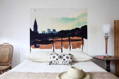 Декоративное панно на стену в спальню