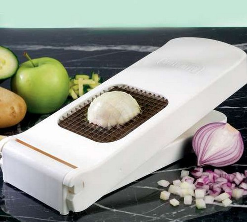 Ручная овощерезка для нарезки кубиками