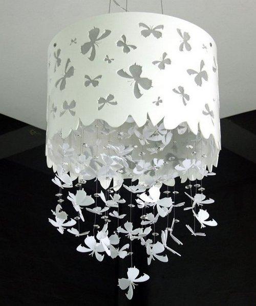 Украшение интерьера бабочками своими руками фото