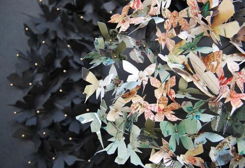 Бабочки из бумаги фото