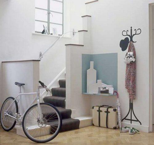 Где поставить велосипед в квартире