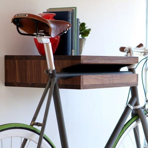 Полка с креплением для велосипеда за раму