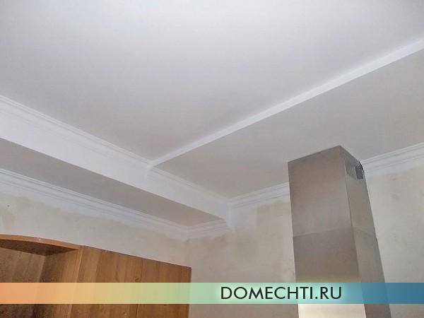 Мастер-класс по покраске потолка с фото