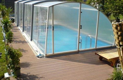 бассейн на даче крытый