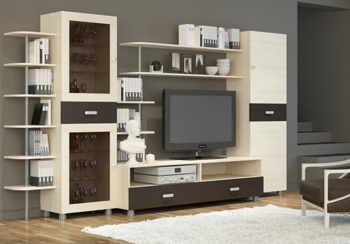 Мебель цвета беленый дуб
