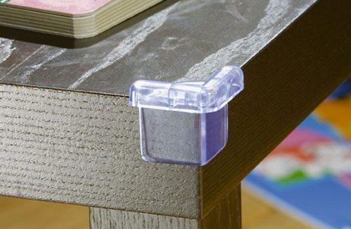 Силиконовые накладки на углы мебели