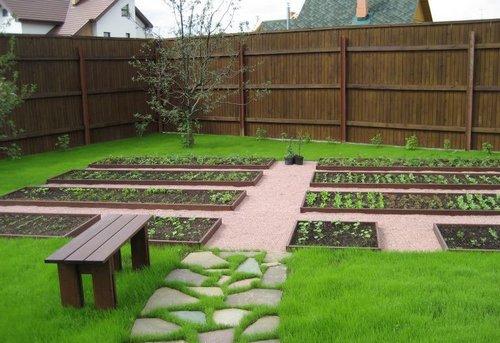 Декоративный огород фото