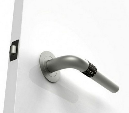 Дверная ручка с кодовым замком Numlock Handle