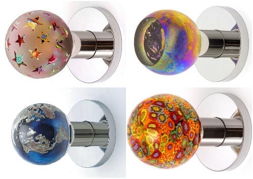 Красивые круглые дверные ручки