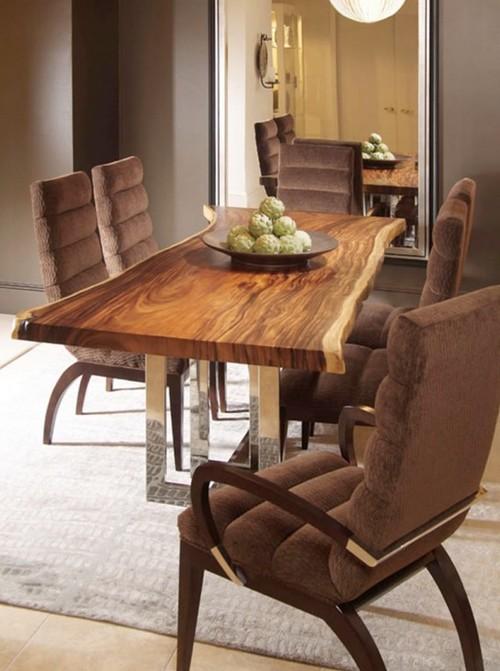 Столовая мебель из массива дерева
