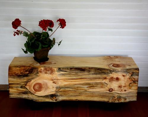 Мебель из бревен фото