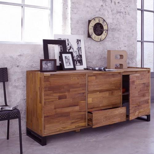 Мебель для прихожей из натурального дерева