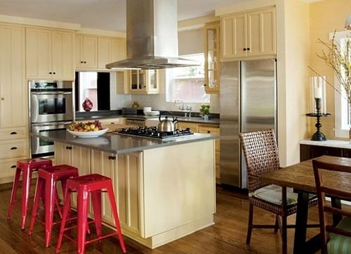Интерьер кухни поможет похудеть
