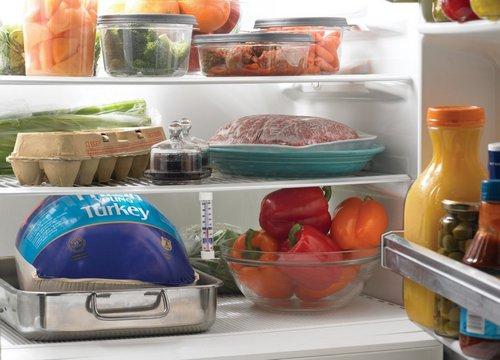 Правильные продукты в холодильнике для похудения