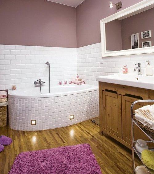 Ванная комната отделка деревом