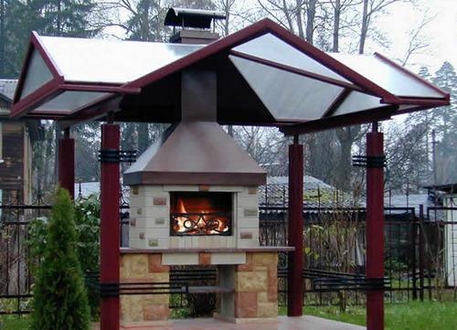 Как построить печь на даче фото