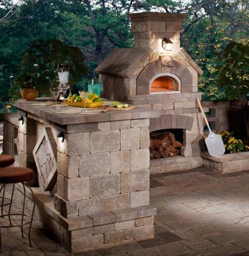 Печь для летней кухни на даче