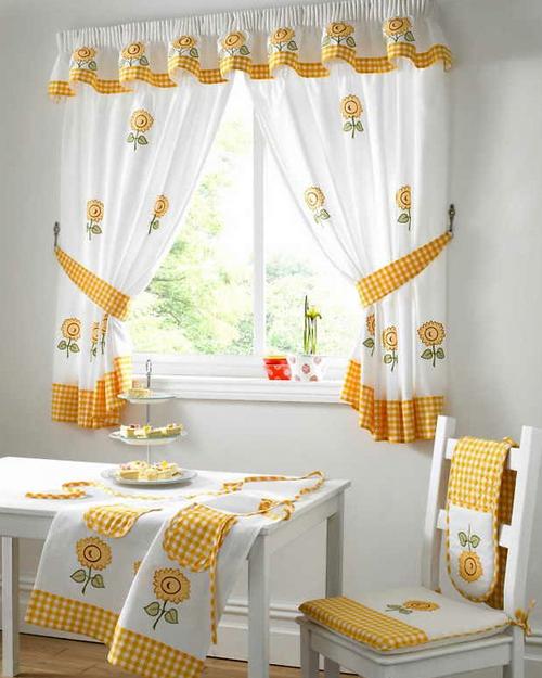 Кухонный текстиль в одном стиле фото