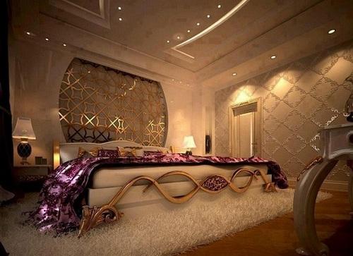 Украшаем спальню к романтическому вечеру