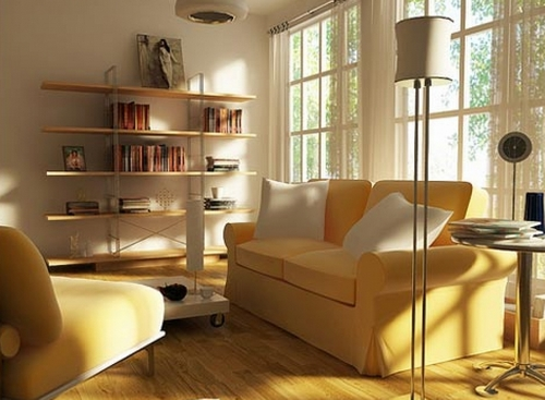 Как зрительно увеличить пространство комнаты