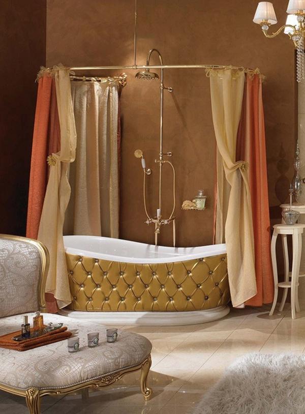 Ванная в роскошном классическом стиле