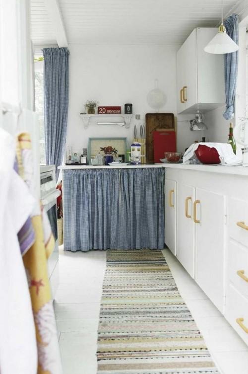 Летний дизайн кухни фото