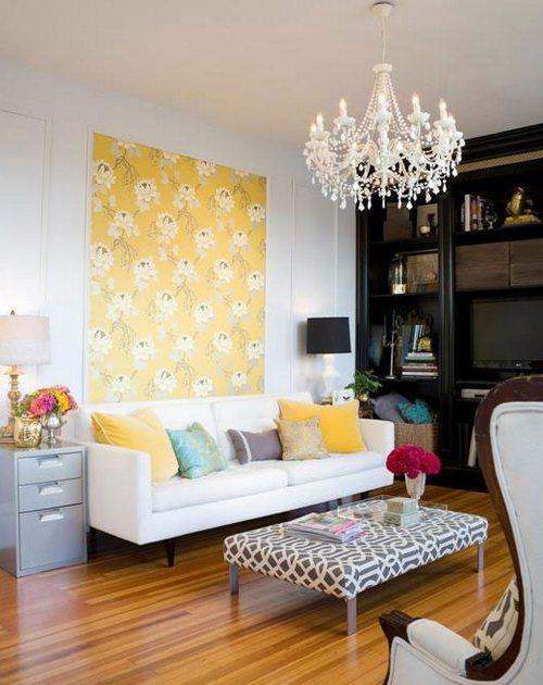 Сочный летний дизайн комнаты