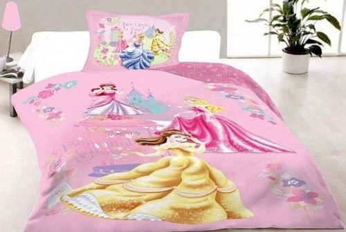 Детское постельное белье 3D для девочки фото