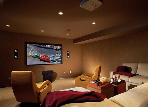 как установить проектор дома