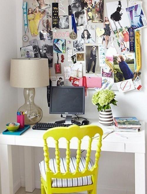 Компактное рабочее место в квартире фото