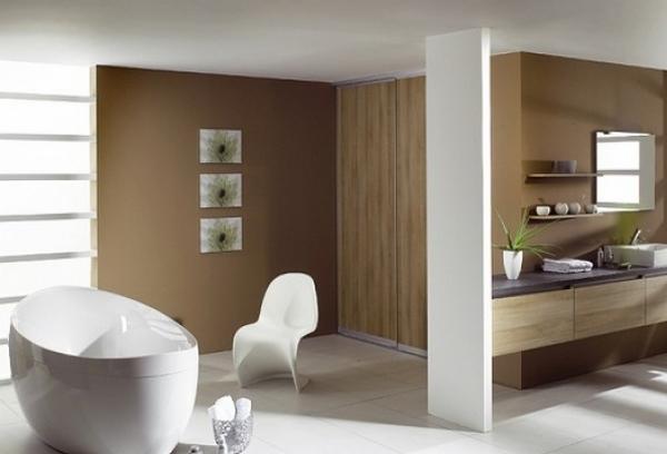 Современная ванная в стиле модерн фото