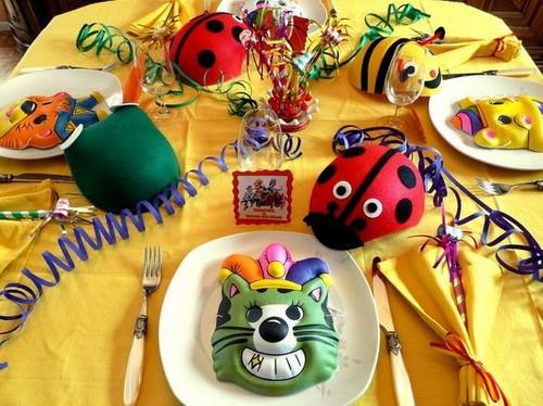 праздничный стол для детей