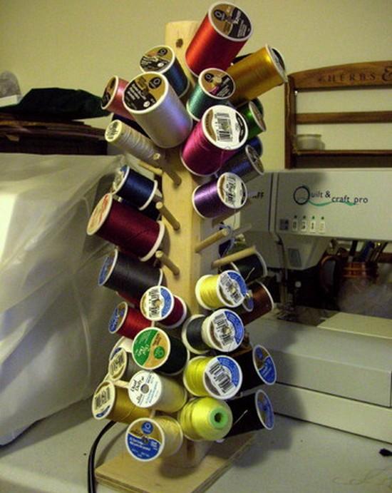 Идеи для хранения ниток