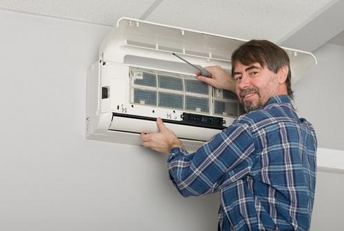 Как установить кондиционер в квартире фото