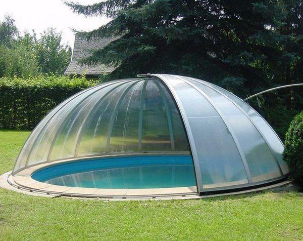 Павильон для круглого бассейна