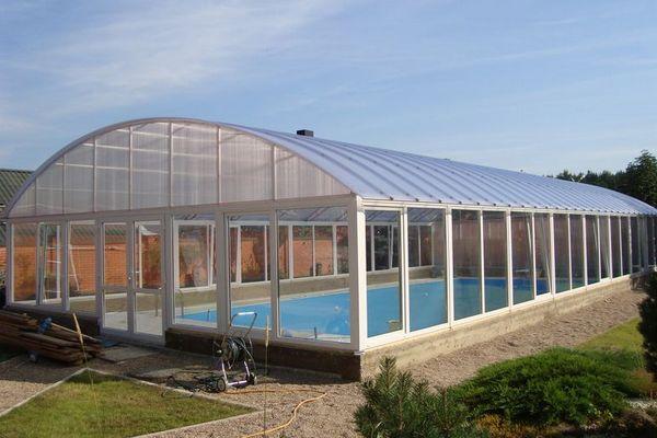 Павильон стационарный для бассейна