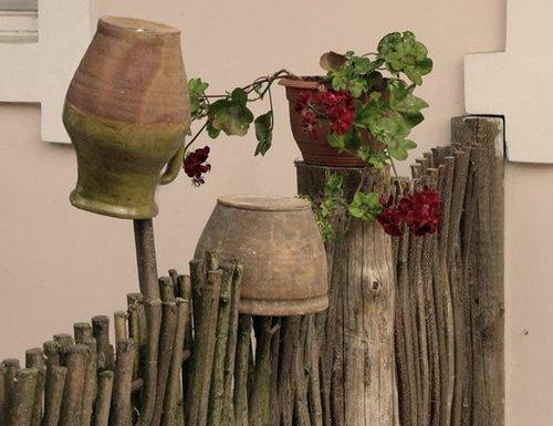 Деревенский стиль в ландшафтном дизайне участка фото