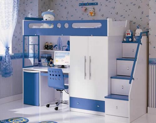 Идеи хранения игрушек - кровать-чердак
