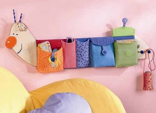 Текстильные кармашки для игрушек